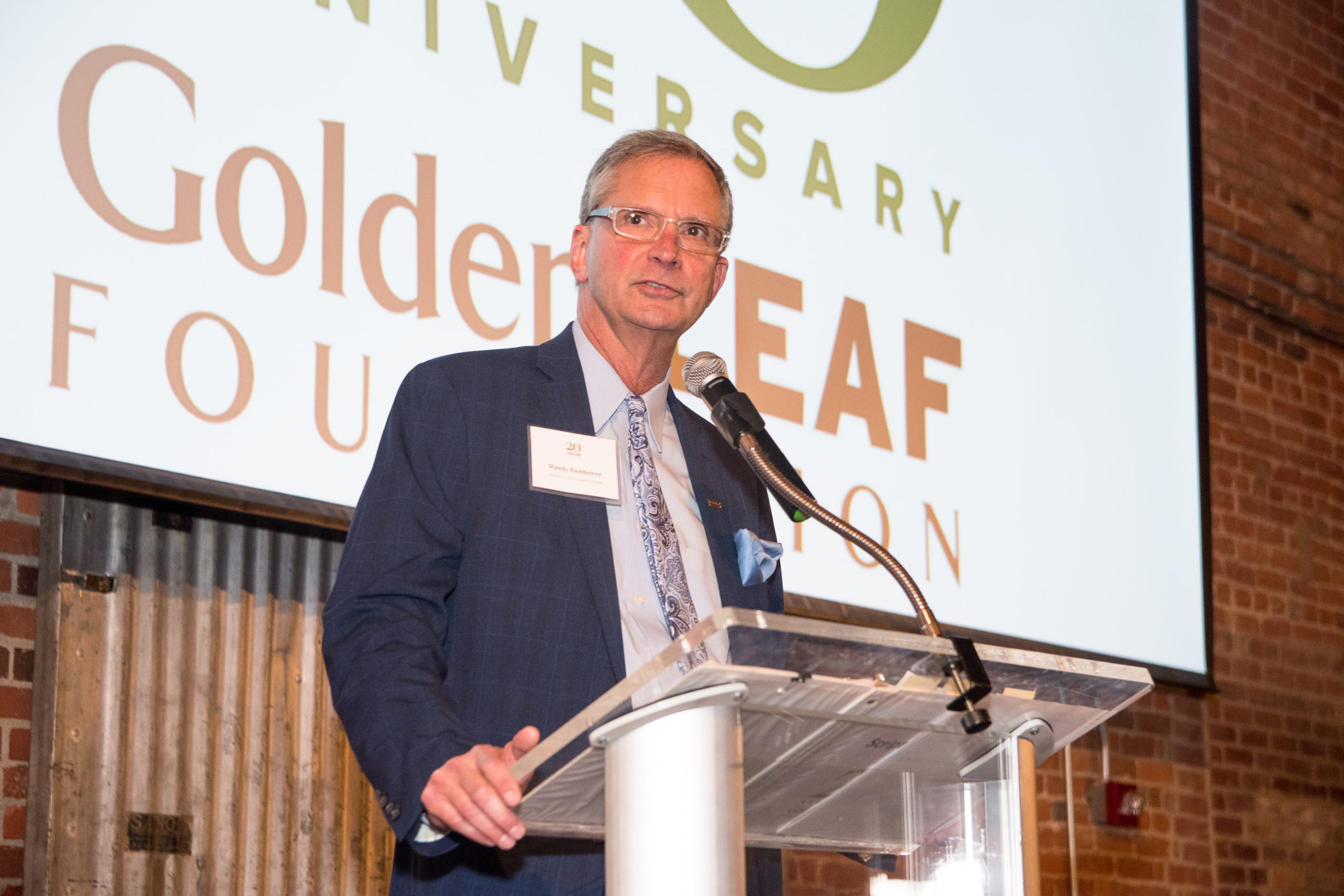The Golden LEAF Foundation Celebrates 20 Years
