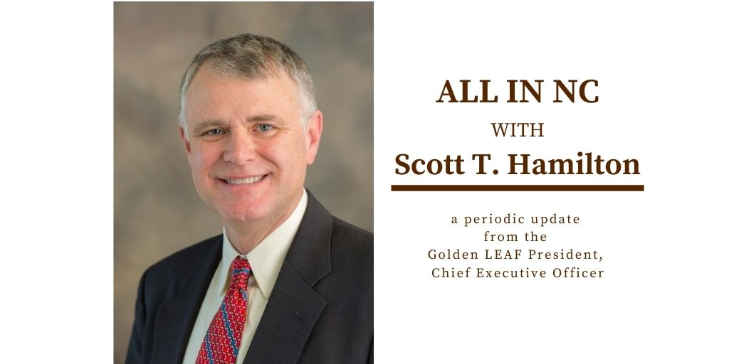 All In NC with Scott T. Hamilton