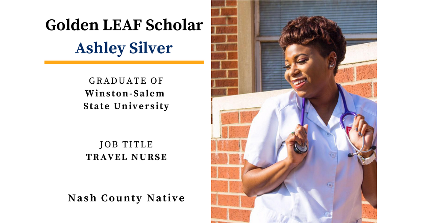 Golden LEAF Scholarship Alumni Spotlight: Ashley Silver