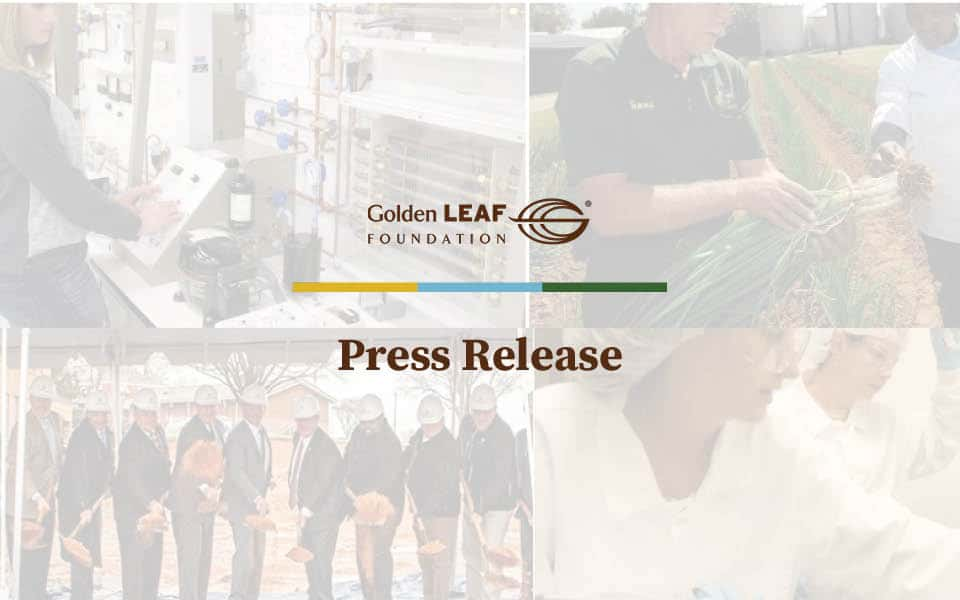 Golden LEAF announces $655,000 in awards, hears from N.C. State University College of Agriculture and Life Sciences Dean Richard Linton