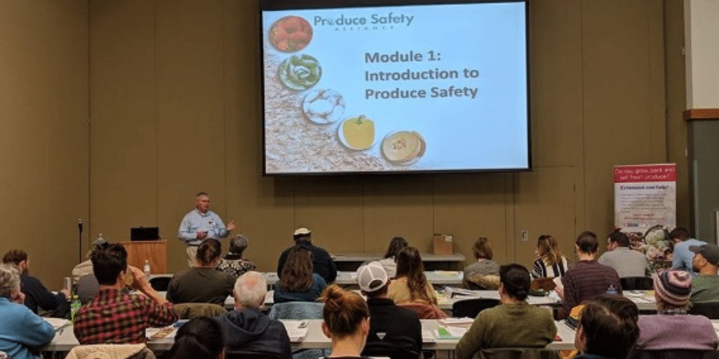 N.C. State University provides federal food safety training for produce farmers, food processors