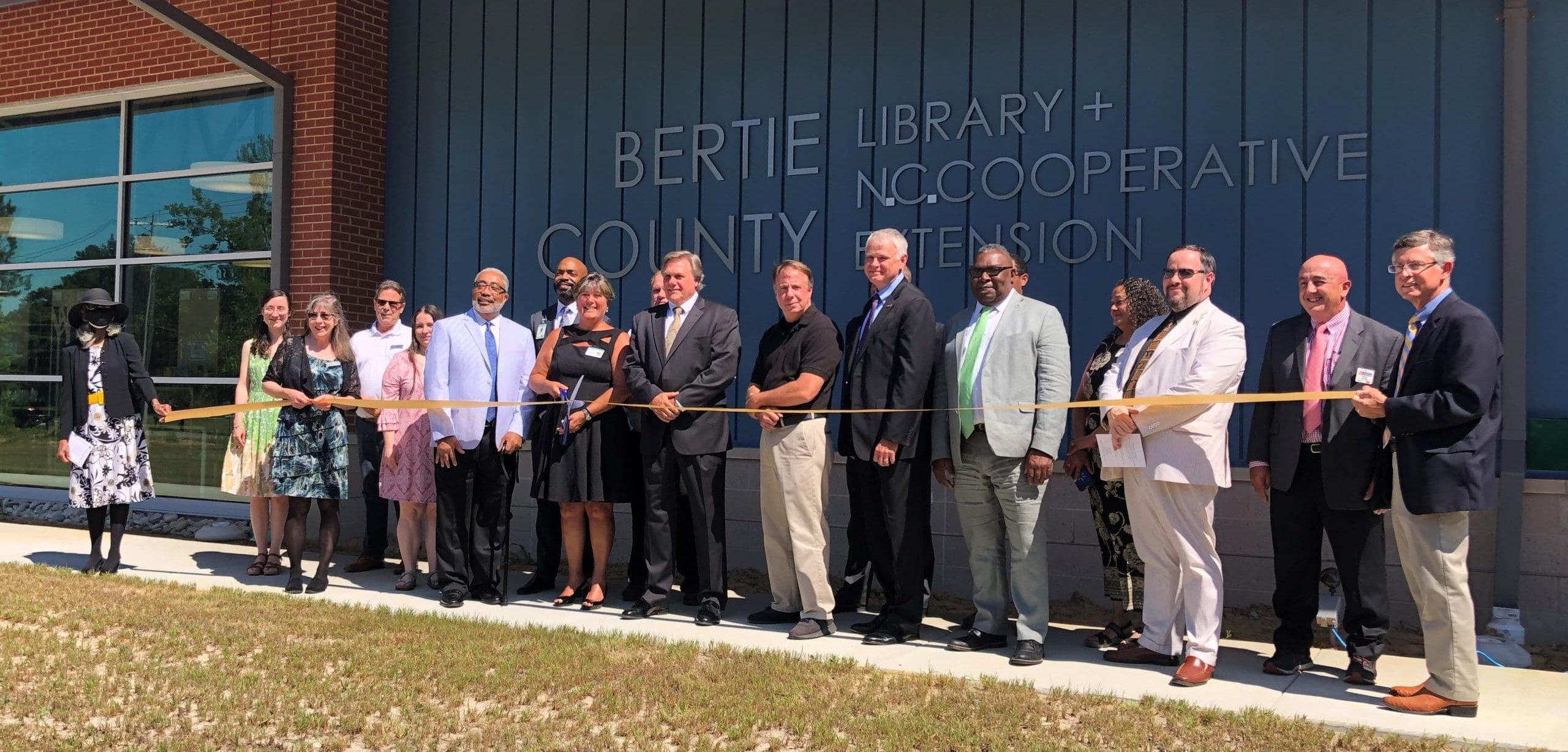 Disaster Recovery Program funds shared space for Bertie County Library and Extension Center
